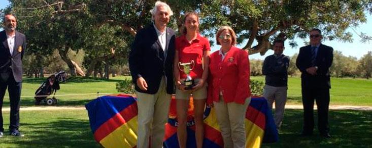 Elena Arias, campeona del Internacional de España