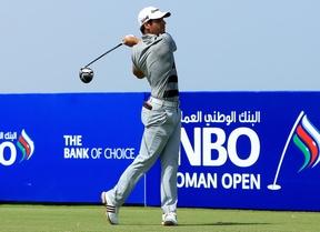 Adrián Otaegui (-10) luchará este domingo por la victoria en Oman