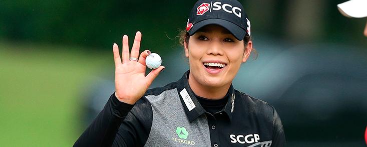 Ariya Jutanugarn anota 66 golpes y toma tres de ventaja en el Trust Golf Women´s Scottish Open