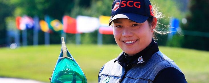 Ariya Jutanugarn accede al número uno del mundo con su victoria en Canadá