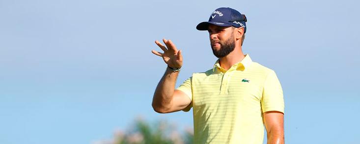 Adri Arnaus sigue llamando a la puerta del Canary Island Championship y ahora es él quien lleva las riendas del torneo