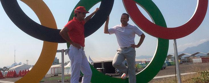 Sergio García: 'Estar en los Juegos es casi como volver a ser amateur'