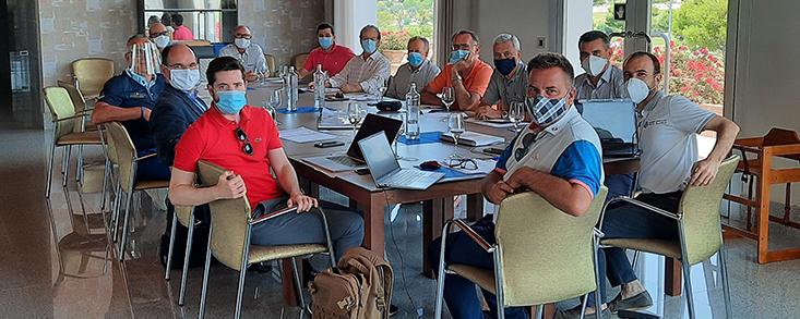 La Asociación de Campos de la Costa Blanca y C.V. celebra su asamblea general