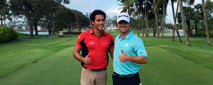 Carlos Pigem y Javier Colomo inician el asalto al Asian Tour