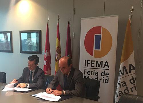 Acuerdo entre Ifema y la Asociación de Campos de Golf de Madrid