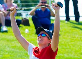 Astrid Vayson de Pradenne se corona en el Evian Resort Golf