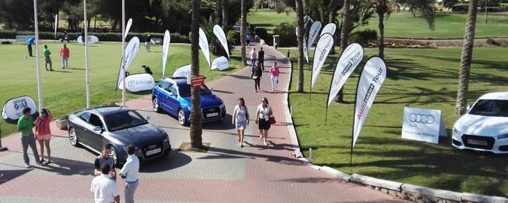 Gran éxito del campeonato amateur de golf Audi Canal+ Tour