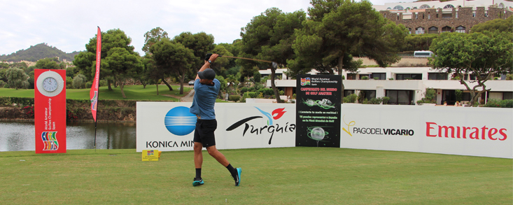 Velando armas del Team Golf Spain WAGC