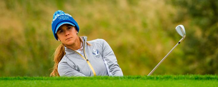 Azahara Muñoz quiere más en su cuarta presencia en la Solheim Cup