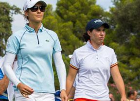 Carlota Ciganda y Azahara Muñoz, Top ten en Taiwan