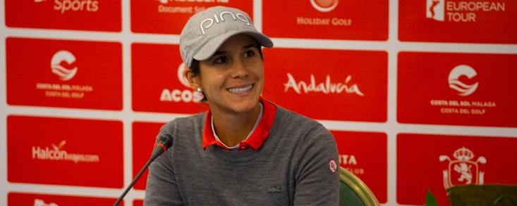 Azahara Muñoz: 'Me encanta jugar bien siempre, pero en casa mucho más'