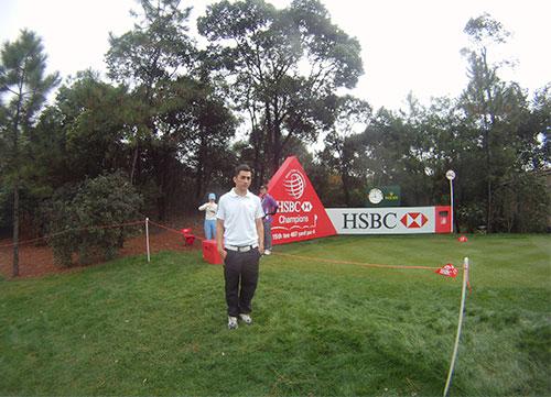 La hora del golf en China