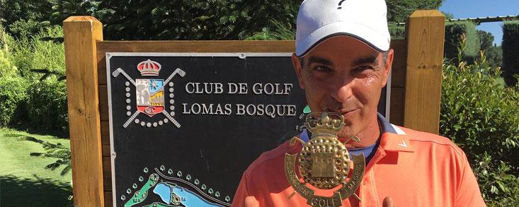 Carlos Balmaseda vuelve a ganar en Madrid y lo hace con 66 golpes en Lomas Bosque