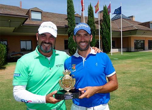 Balmaseda y Suazo recuperan su corona de campeones de Madrid Dobles