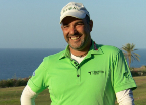 Carlos Balmaseda se estrena en el Senior Golf Tour Europe