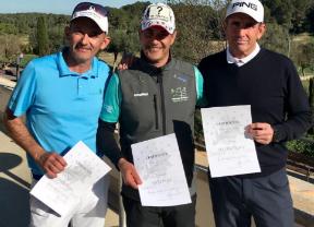 Carlos Balmaseda se impone en el Mallorca Senior Open