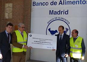 Más de 4.000 euros solidarios para el Banco de Alimentos