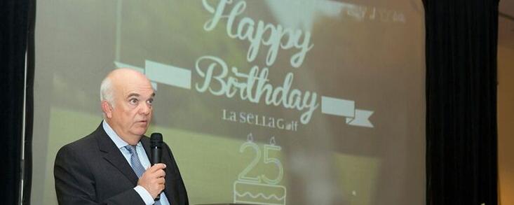 La Sella Golf celebra el XXV aniversario de su inauguración