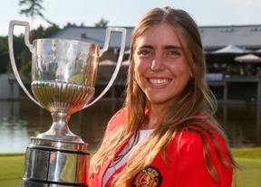 Celia Barquín, Medalla de Oro al Mérito en Golf