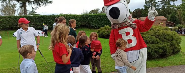 ¡Récord de niños con el Oso Bogey a la Barganiza, 160!