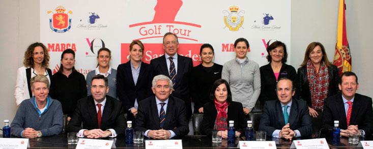 Siete pruebas y el Campeonato de España conforman un calendario ilusionante para el golf femenino español