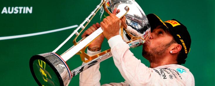 Hamilton gana su tercer Mundial
