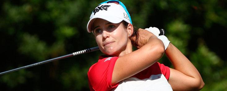 Beatriz Recari se suma a la fiesta del golf femenino español