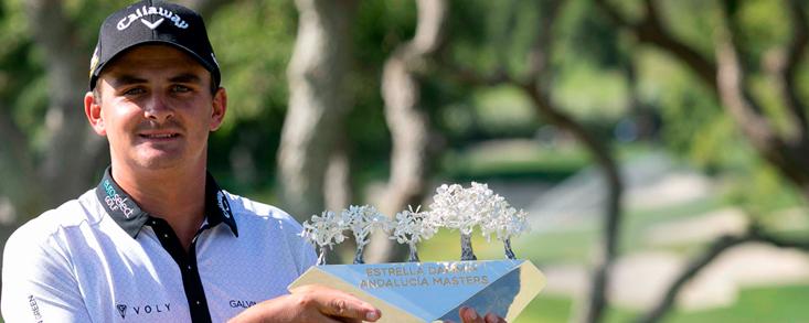 Valderrama volvió a brillar en el Estrella Damm Andalucía Masters