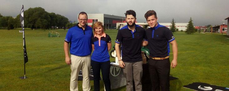 Decathlon e Inesis vivieron la tercera fiesta de su circuito de golf en La Morgal