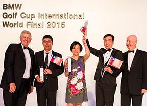Taiwán, ganador absoluto de la BMW Golf Cup