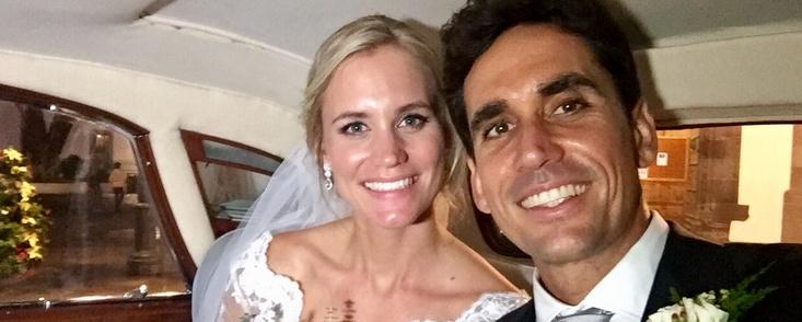 Rafa Cabrera Bello y Sofia Lundstedt ya están casados