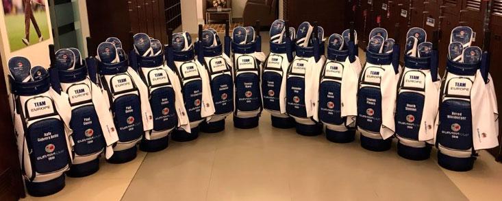 Las bolsas del equipo europeo ya están en formación