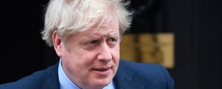Boris Johnson no aprende, otra vez en cuarentena