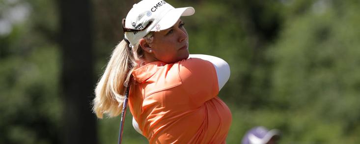Brittany Lincicome, positivo por COVID-19, se da de baja en el torneo