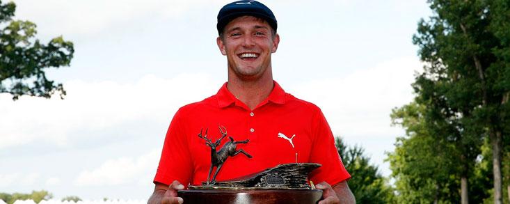 Bryson DeChambeau logra la primera victoria en el PGA