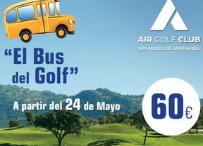 El Bus del Golf, iniciativa para aunar golf y buena gastronomía