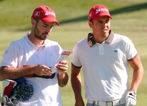 Borja Virto, listo para Tecina Golf