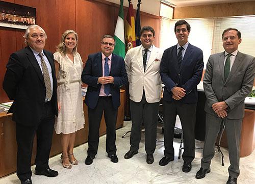 La AECG y la Consejería de Turismo y Deporte de Andalucía, con la promoción del golf