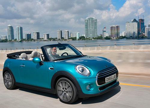 Mayor libertad en el Mini Cabrio