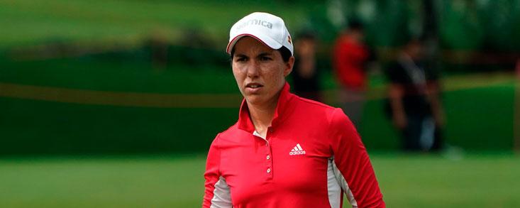 Carlota Ciganda arranca en el top ten con 70 golpes y a tres de la cabeza
