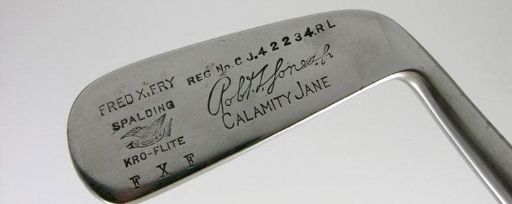 Un putter 'Calamity Jane' de Bobby Jones será subastado en 14 días