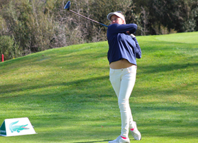 Camilla Hedberg en el top ten del Neuchatel Ladies Championship