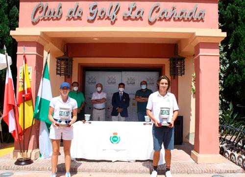 Álvaro Mueller y Valentina Albertazzi se proclaman campeones en La Cañada