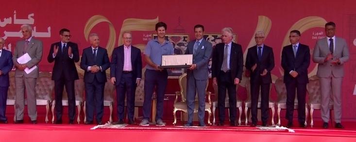 Jorge Campillo firma el mejor doblete del golf español con Nuria Iturrios