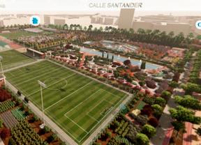 Un nuevo parque sobre el antiguo campo de prácticas de Golf Canal