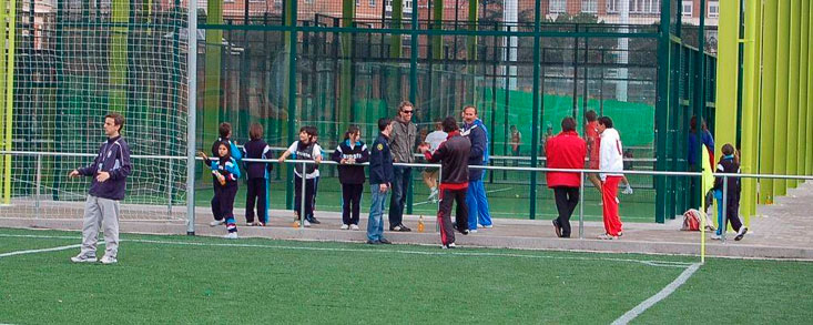 Pádel y fútbol, 'legalizados' en las instalaciones del Canal