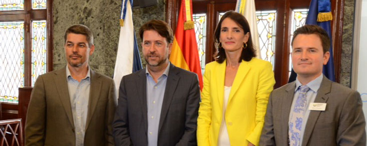 Carlos Alonso: 'Es un gran reto logístico para Tenerife'