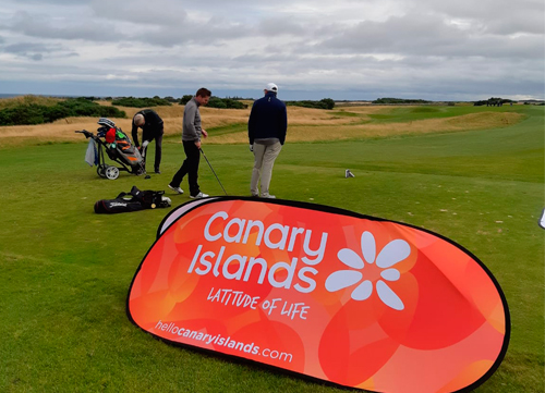 Turismo de Canarias presente en Saint Andrews, Edimburgo y Belfry