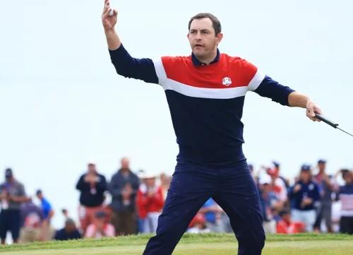 Patrick Cantlay nombrado jugador del año por su compañeros del PGA Tour
