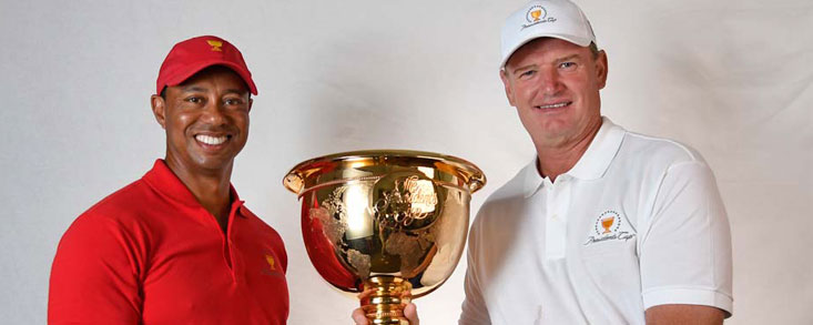 Tiger Woods y Ernie Els capitanes de la President´s Cup 2019